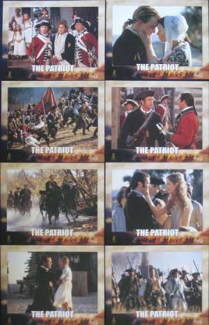 Patriot, The Lobby Card Set - Mel Gibson Heath Ledger