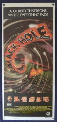 The Black Hole 1979 Maximilian Schell Daybill movie poster