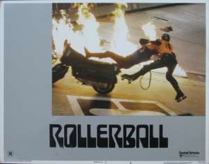 Rollerball 1975 Lobby Card Original USA 11 x 14 No 6 James Cann