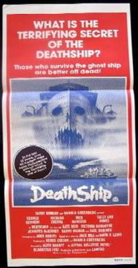 Death Ship 1980 Daybill movie poster George Kennedy Richard Crenna