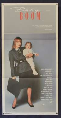 Baby Boom Movie Poster Original Daybill 1987 Diane Keaton Sam Shepard