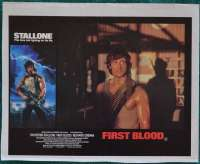 First Blood 1982 Rare Original Photosheet Lobby 6 Sylvester Stallone Rambo