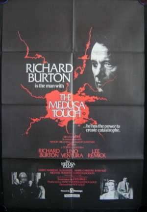 The Medusa Touch One Sheet Movie Poster Original 1978 Richard Burton Horror