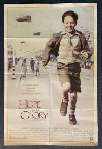Hope And Glory Poster Original USA One Sheet 1987 Sebastian Rice-Edwards