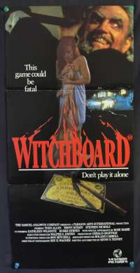 Witchboard Daybill movie poster Todd Allen