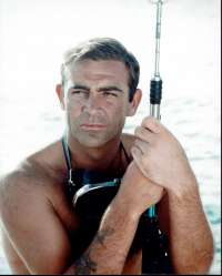 Thunderball 1965 Movie Still Reprint Sean Connery 007 James Bond