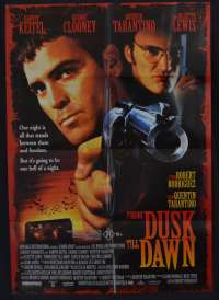 From Dusk Till Dawn poster One Sheet George Clooney Quentin Tarantino Vampires