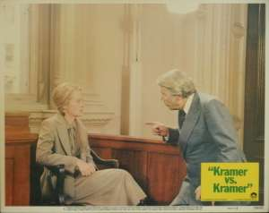 Kramer vs. Kramer Lobby Card No 6