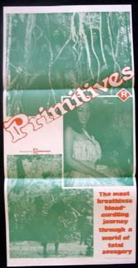 Primitives Daybill movie poster Voodoo Cannibals