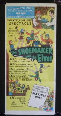 Shoemaker And The Elves, The Daybill Movie poster