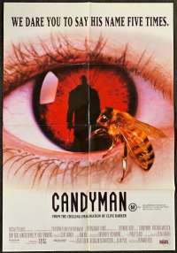 Candyman 1992 One Sheet movie poster Supernatural Horror Clive Barker Virginia Madsen