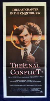 The Final Conflict 1981 Daybill Movie Poster Sam Neill Omen 3 Horror