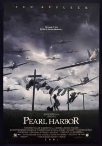 Pearl Harbour 2001 One Sheet ROLLED Movie poster low flying Laundry Artwork