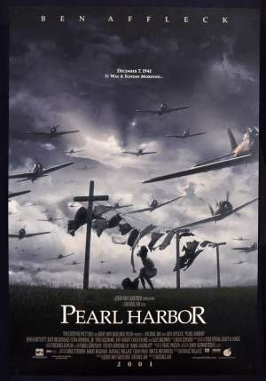Pearl Harbour 2001 One Sheet ROLLED Poster Laundry Artwork
