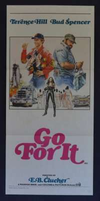 Go For It 1983 Daybill Movie Poster Bud Spencer Terence Hill