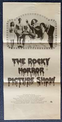 The Rocky Horror Picture Show Poster Original Daybill 1975 Rare Style B Art