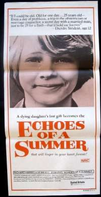 Echoes Of A Summer Daybill Movie poster