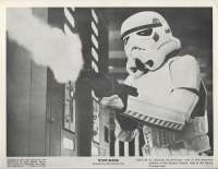 Star Wars Movie Still Reproduction B/W Imperial Storm Trooper Galactic Empire
