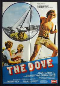 The Dove 1974 One Sheet Movie Poster Joseph Bottoms UK artwork!