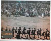 Gandhi Lobby Card No 1