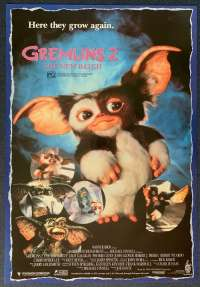 Gremlins 2 The New Batch Poster Original One Sheet Rolled 1990 Phoebe Cates