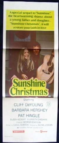 Sunshine Christmas Daybill Movie poster