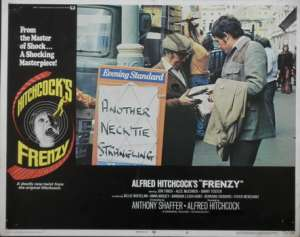 Frenzy Lobby Card 11x14 USA No 8 Original 1972 Hitchcock Jon Finch Alec McCowen