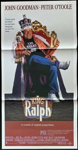 King Ralph Daybill Movie poster