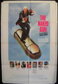 The Naked Gun Movie Poster One Sheet Leslie Neilson Priscilla Presley O.J. Simpson