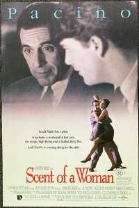 Scent Of A Woman Poster Original Daybill 1992 Al Pacino Chris O'Donnell