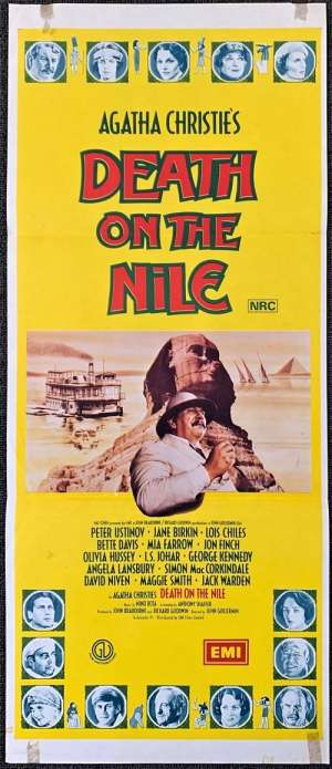 Death On The Nile Daybill Movie poster