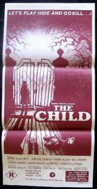 The Child Poster Australian Daybill Movie poster