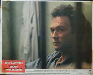 Escape From Alcatraz 1979 Clint Eastwood Fred Ward Lobby Card No 1