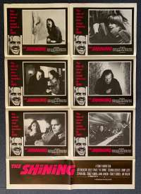 The Shining 1980 Rare Original Photosheet movie poster Jack Nicholson Stanley Kubrick
