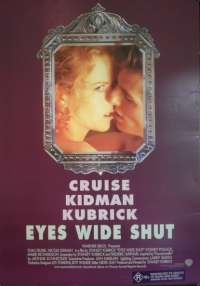 Eyes Wide Shut (Rolled) Tom Cruise One Sheet Australian Movie Poster