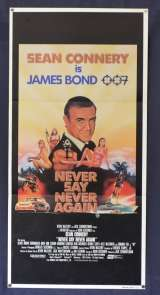 Never Say Never Again Daybill Movie Poster