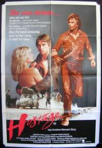 Hostage 1983 One Sheet movie poster Frank Shields