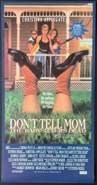 Don't Tell Mom The Babysitter's Dead Daybill movie poster