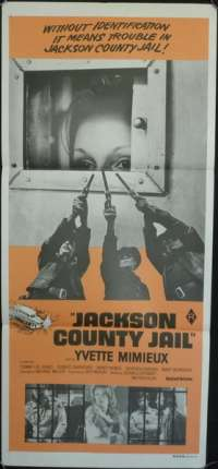 Jackson County Jail 1976 Yvette Mimieux Tommy Lee Jones Daybill Movie poster