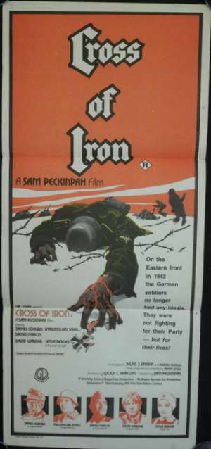 Cross Of Iron 1977 Daybill movie poster James Coburn Maximilian Schell