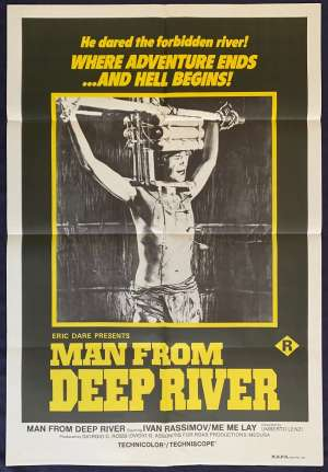 Man From Deep River One Sheet Australian Movie poster