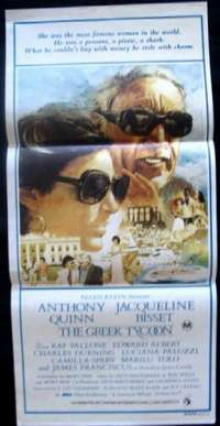 Greek Tycoon, The Daybill Movie poster