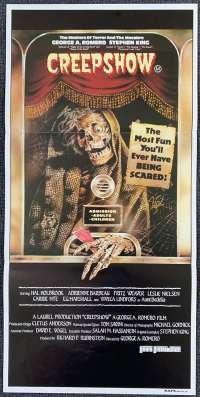 Creepshow 1982 Daybill movie poster George A Romero Stephen King