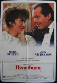 Heartburn One Sheet Australian Movie poster