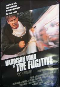 Fugitive, The One Sheet Australian Movie poster