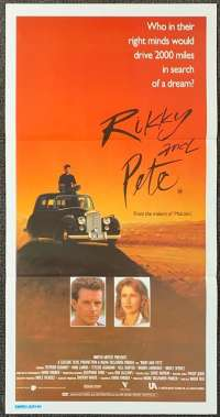 Rikky And Pete 1988 Daybill movie poster Bill Hunter Nadia Tass