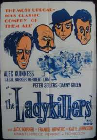 The Ladykillers 1955 One Sheet Australian Movie poster