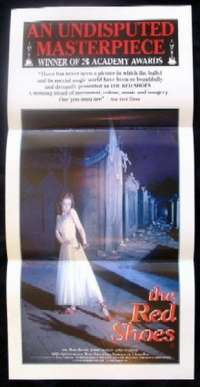 Red Shoes, The Daybill Movie poster