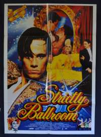 Strictly Ballroom 1992 One Sheet Movie Poster Baz Luhrmann Paul Mercurio