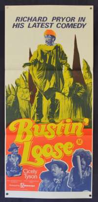 Bustin Loose Daybill Movie poster